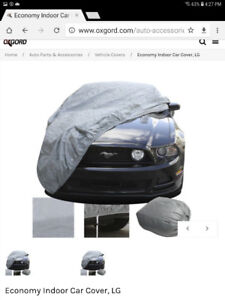 New vehicle dust cover Top of the Line