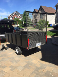 4' X 8' steel trailer with ramp