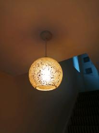 Bronze Glass Ceiling Light Shades