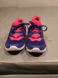 Purple and Pink Adiddas Running Shoes - Size: 4.5 US