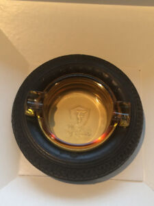 Vintage, Firestone, Balloon, High Speed, Gum Dipped Tire Ashtray