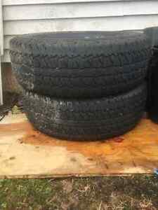 Two P265/65R17 Tires