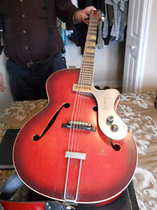 1964 Framus Archtop Riviera Electric Acoustic Guitar