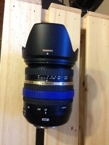 Tamron 17-50 VC DiII 2.8 lens in great shape for Canon West Island Greater Montréal image 2