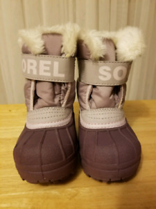 NEW - Toddler girls winter boots, Sorel and Cougar