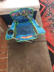 Buzz  Lightyear kid's  fold  up  chair Fawkner Moreland Area Preview