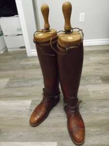 VintageTOM HILL Leather Riding Boots