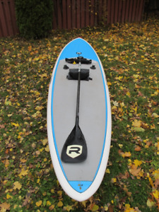 11'6 Riviera SUP with Carbon Paddle and Belt Life Jacket