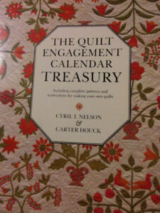 Book The Quilt engagement Calendar treasury by Cyril I Nelson &