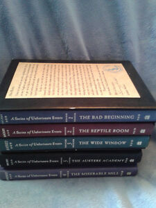 Mint Lemony Snicket A Series Of Unfortunate Events Hardcovers  T