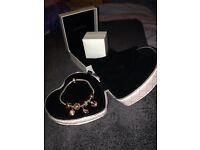 Pandora bracelet rose gold limited edition