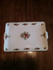 Old Country Roses Serving Tray