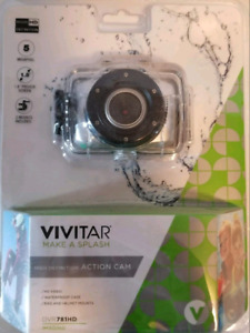 Mini waterproof action camera