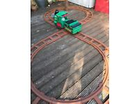 Ride on train with circular or figure of 8 track -peg-perego-hours of fun!