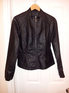 Women's Brand New Faux Leather Jacket London Ontario image 1