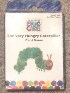 The very hungry caterpillar - card game - for 3+