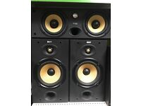 B&W CC6 S2 speakers -