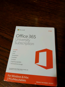 Microsoft Office 365 - University Subscription