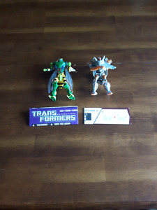 Transformers Waspinator and Rat Trap