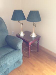 Lot de 3 lampes (2 de tables et 1 sur pied) | Vendeur motivé