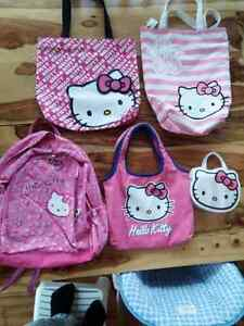 Hello Kitty totes and bags