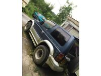 Spares and repairs pajero 1999 automatic