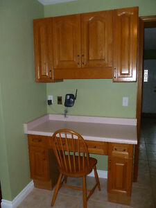 Oak kitchen cabinets - Full Kitchen Cambridge Kitchener Area image 1