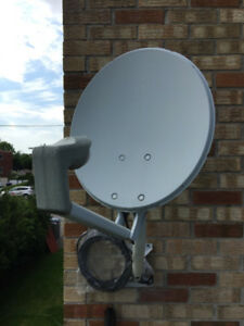 Satellite Dish, Antenne, Coupole, Soucoupe