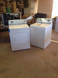 Ken more washer and dryer 2 years old