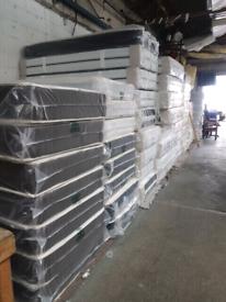 Firm orthopaedic spring mattress