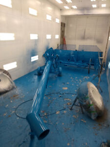 Paint Booth- Industrial Wet Paint/Blasting
