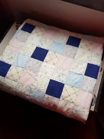 Handmade bespoke quilt/blanket