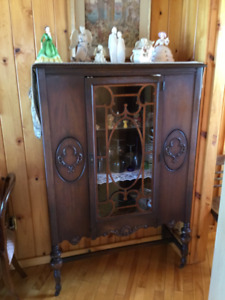 Antique China cabinet, was my great grandmothers.