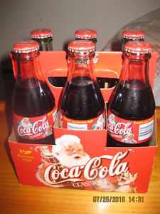 Coca-Cola Classic collectable bottles