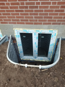 CUSTOM EGRESS WINDOWS FROM MANUFACTURER FOR YOUR BASEMENT