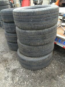 4x pneus ete 275/55R20 Michelin ltx