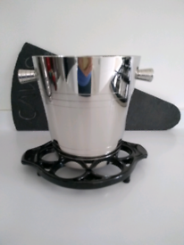 Wine cooler ice bucket for champagne or prosecco