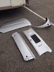 1998-2006 450 Mersedes Smart car fortwo silver plastic panels