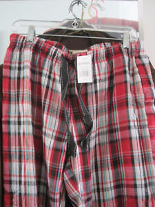 Brand New Magellan Outdoors Red/White Plaid Lounge Pants