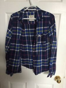 Abercrombie and Fitch plaid shirt
