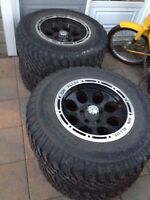 "Mags 17"" pour jeep"