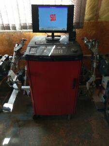 Hunter S511 wheel alignment machine