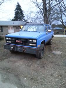 1989 4x4 suburban diesel