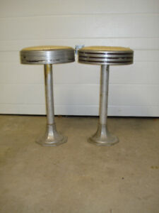 Antique  Bar or Soda Fountain Stools