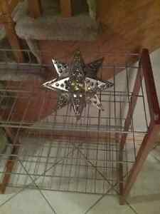 Hanging Metal Star.