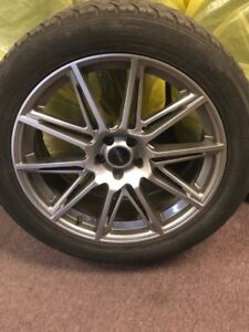 ford edge Fast rims and toyo tires P245/50R20