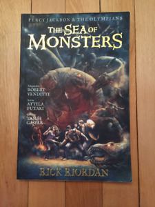 Graphic Novel - Percy Jackson, The Sea of Monsters