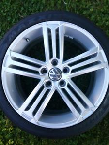 "Mags VW Golf R Talladega 18"" + pneus"