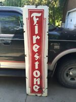 Vintage sign. Check my other ads for signs and prices