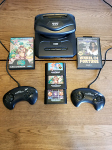 Sega genesis with 32x adapter